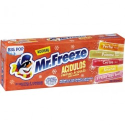 Mr.Freeze Big Pop Acidulos 45ml (lot de 3 soit 60 bâtons glacés)