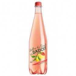 Badoit Bulles de Fruits Citron Touche de Fraise 1L (lot de 12)