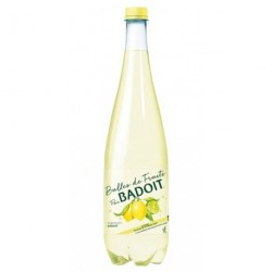 Badoit Bulles de Fruits Citron Touche de Citron Vert 1L (lot de 12)