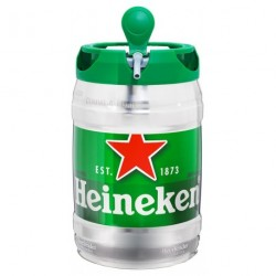 Heineken Fût Pression 5L (lot de 2)