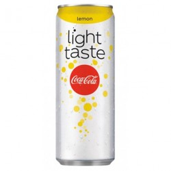 Coca-Cola Light Taste Lemon 25cl (lot de 72)