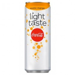 Coca-Cola Light Taste Mangue Exotique 25cl (lot de 72)