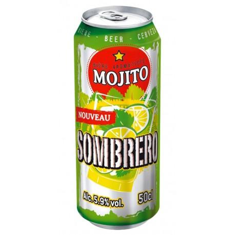 Sombrero Mojito 50cl (pack de 12 canettes)