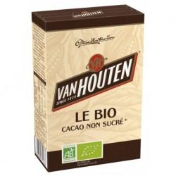 Van Houten Le Bio Cacao Non Sucré 125g (lot de 3)