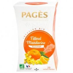 Pages Infusion Sommeil Tilleul Mandarine 20 sachets (lot de 3)