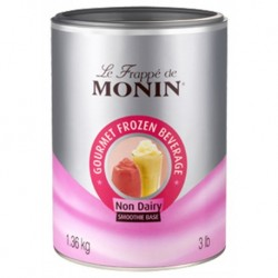 Monin Frappé Smoothie Base Neutre 1,36Kg (lot de 3)