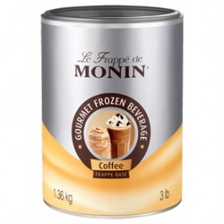 Monin Frappé Base Café 1,36Kg (lot de 3)