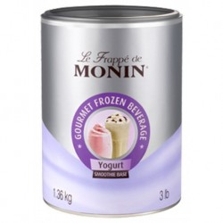 Monin Frappé Smoothie Base Yogurt Yaourt 1,36Kg (lot de 3)