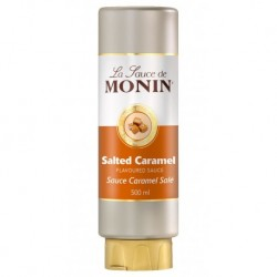 Monin Sauce Caramel Salé 50cl (lot de 3)