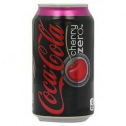 Coca-Cola Cherry Zero 25cl (pack de 24)