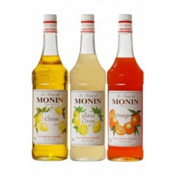 Assortiment Monin Fruits Acidulés (pack 3x1L)