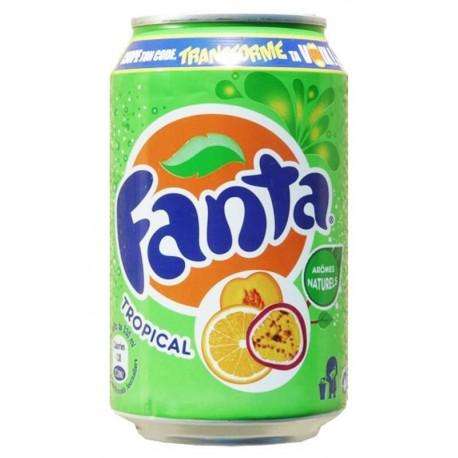Fanta Tropical 33cl (pack de 24)