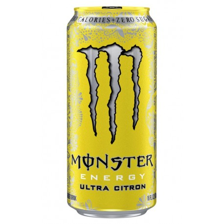 Monster Ultra Citron 50cl (pack de 24)