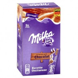 Milka Recette Onctueuse Sticks