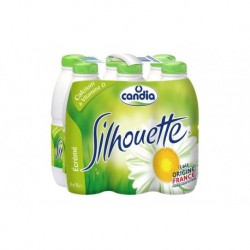 Candia Lait Silhouette Vitamines 1L (pack de 6)