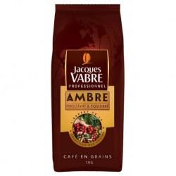 Jacques Vabre Ambré Café En Grains 1Kg