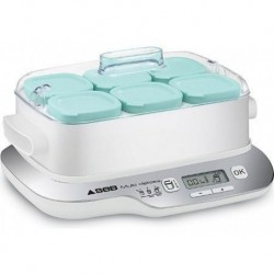SEB Yaourtière Multi Delices Express Compact 6 Pots YG6571FR YG660100