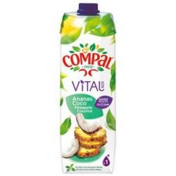 Compal Vital Ananas Coco 1L (pack de 12)