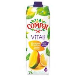 Compal Vital Mangue Orange 1L (pack de 12)