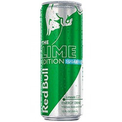 Red Bull Citron Vert Sugarfree 25cl (pack de 12)