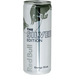 Red Bull Silver Edition 25cl (pack de 12)