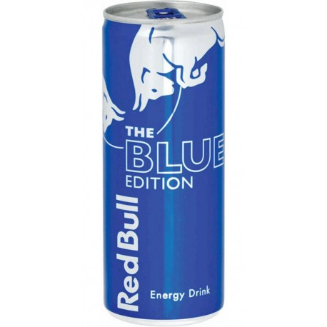 Red Bull Blue Edition 25cl (pack de 12)