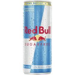 Red Bull Sugarfree 25cl (pack de 24)