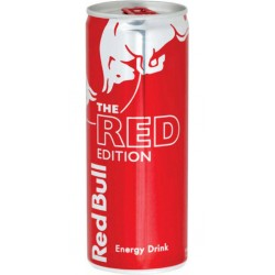 Red Bull Red Edition 25cl (pack de 12)