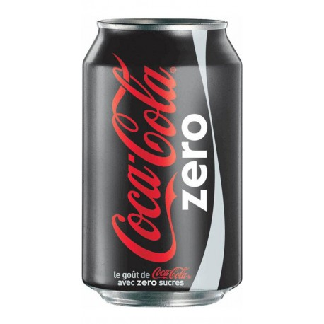 Coca-Cola Zero 33cl (pack de 24)
