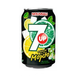 7up Mojito 33cl (pack de 24)