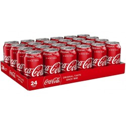 Coca-Cola 33cl (pack de 24)