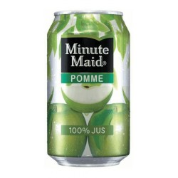Minute Maid Pomme 33cl (pack de 24)