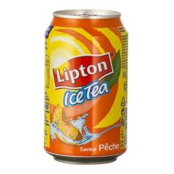 Lipton Ice Tea Saveur Pêche 33cl (pack de 24)