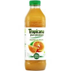 Tropicana Orange Avec Pulpe 1L (pack de 6)