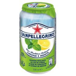 San Pellegrino Citron Menthe 33cl (pack de 6)
