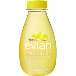Evian Citron et Sureau 37cl (pack de 12)