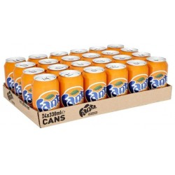 Fanta Orange 33cl (pack de 24)