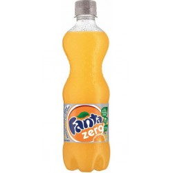 Fanta Orange Zéro 50cl (pack de 24)