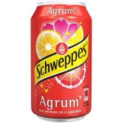 Schweppes Agrum 33cl (pack de 24)