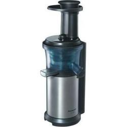 Panasonic Extracteur de Jus Gris Acier MJ-L500SXE Slow Juicer Mjl500 (Mjl500rxe)
