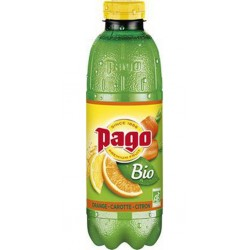 Pago BIO Orange Carotte Citron 75cl