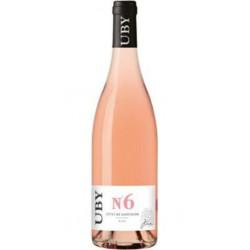 DOMAINE UBY IGP Côtes de Gascogne UBY N6 Rosé 2020 75cl
