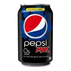 Pepsi Max 33cl (pack de 24)