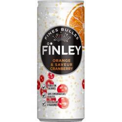 Finley Orange Cranberry 25cl (pack de 24)