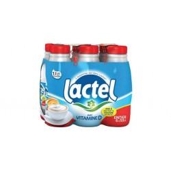 Lait Lactel Vitamine D Entier 50cl (pack de 6)