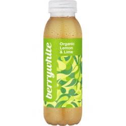 Berrywhite Citron et Citron Vert 33cl (pack de 12)