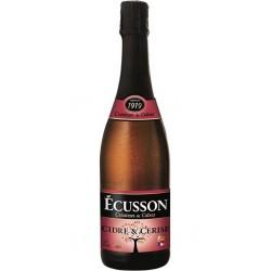 Ecusson Cidre et cerise 3% 75 cl 3%vol.
