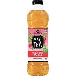 May Tea Boisson au thé blanc saveur framboise 1 L