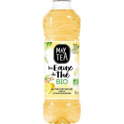 May Tea Boisson au thé vert citron gingembre bio 1 L