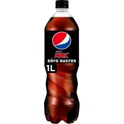 Pepsi Boisson gazeuse au cola sans sucres 1 L